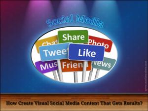 Visual Social Media Content