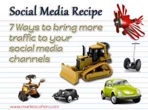 social media - 7 traffic tips