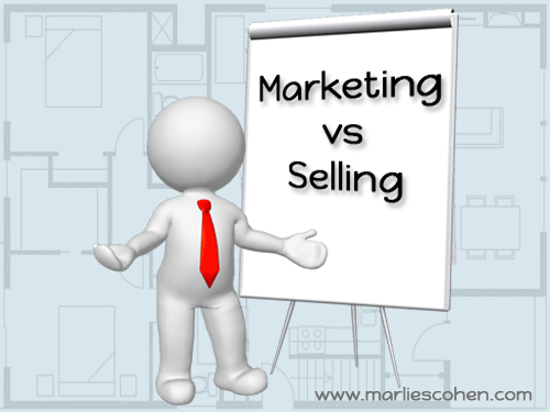 marketing vs selling