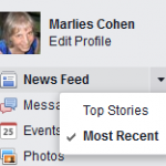 Facebook Stream Most Recent